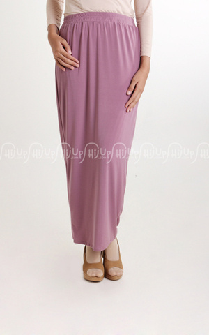 Long Drape Skirt by Shabilla