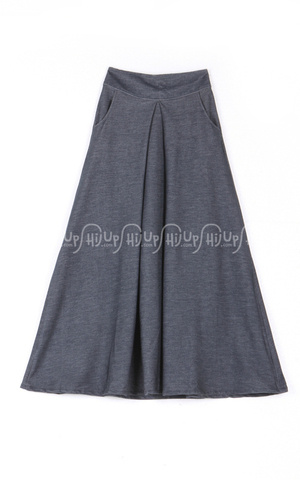 Denim Skirt by Indij