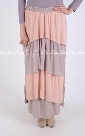 Ruffle Wide Skirt by Shabilla