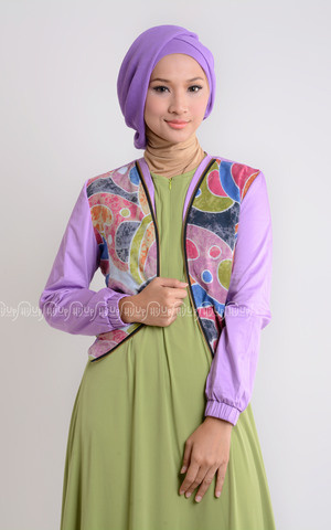 Bomber Jacket Pop Batik by Dian Pelangi
