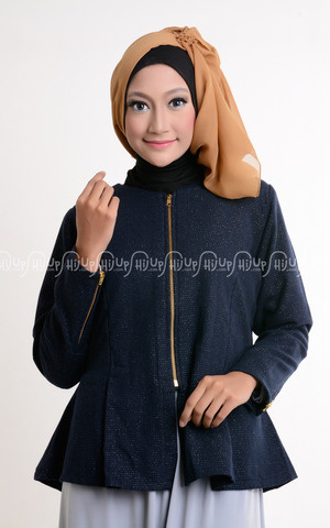 Zipper Blazer by Nasywa