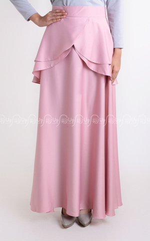 Tulip Glosy Skirt by Aprilia