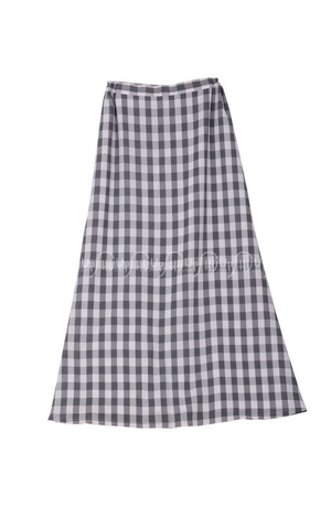 Skirt Grey Plaid by Anemone By Hannie Hananto
