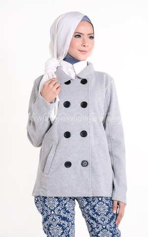 Lazada Coat Grey by Mexitalia