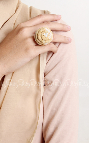 Batik Flower Ring by MissMarina