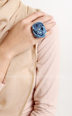 Batik Rose Ring by MissMarina